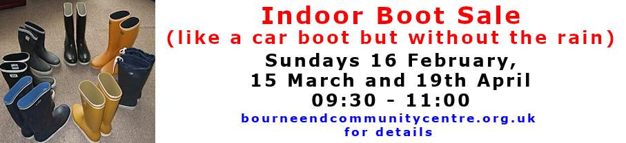 Indoor Boot Sales 202002-202004