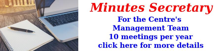 Minutes Secretary