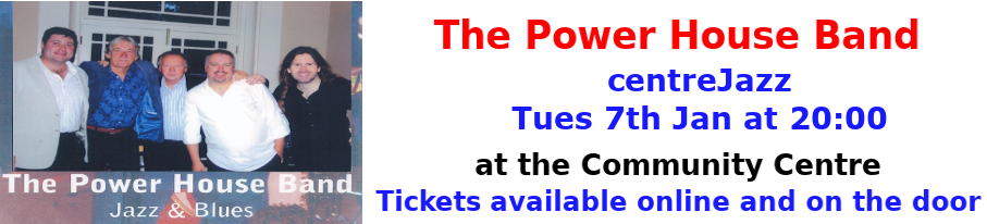centreJazz-Power House Band-Jan 2020